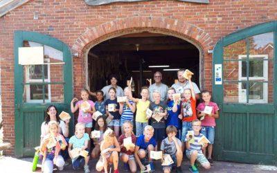 Bezoek kinderen basisschool het Mozaïek uit Stadskanaal