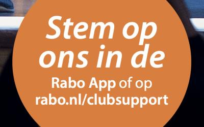 Rabo ClubSupport; De Stelmakerij doet mee!